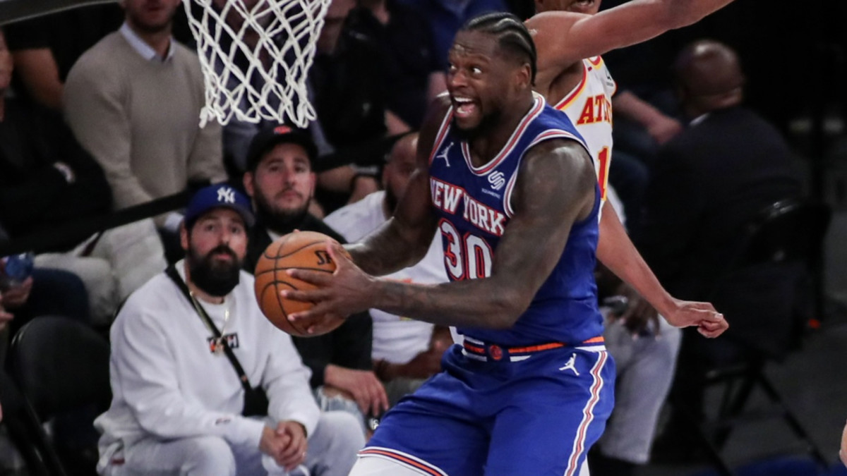 NBA All-Star Julius Randle Talk Knicks, Partners with ...