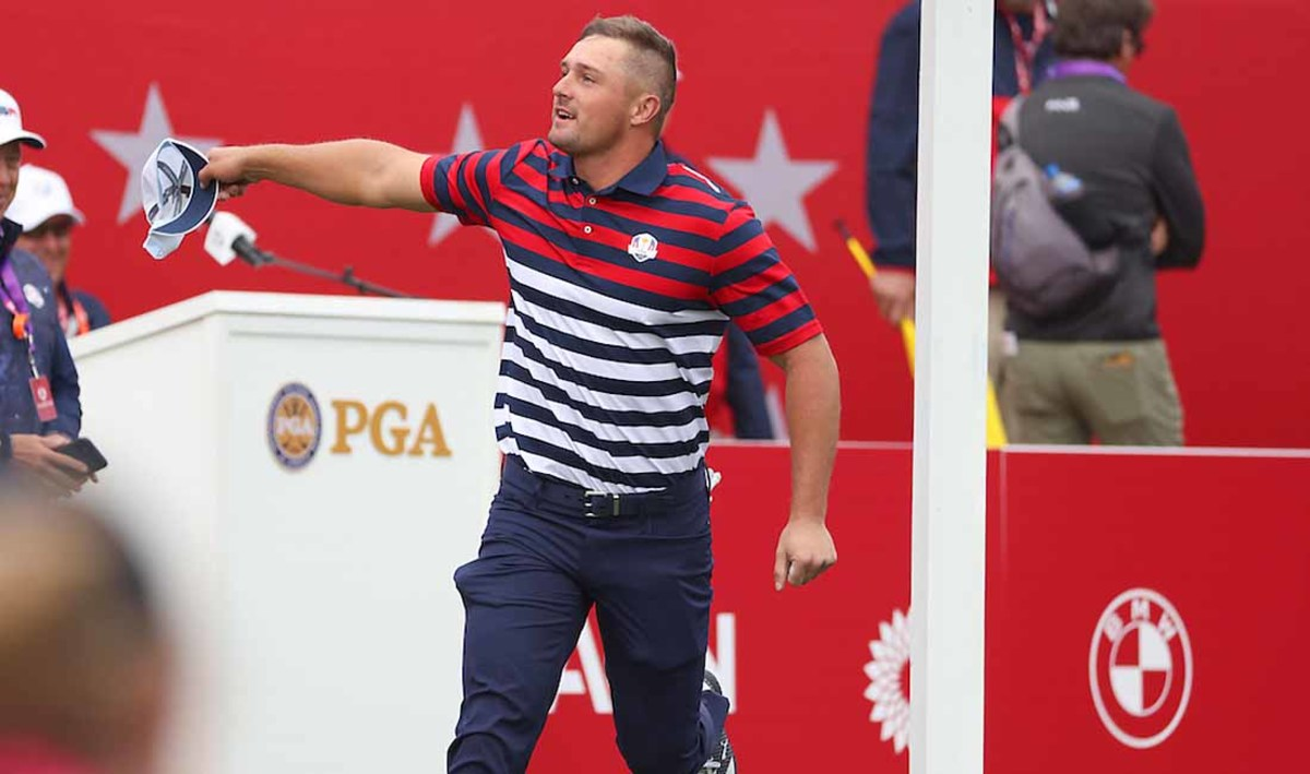 Bryson DeChambeau has the potential to fire up crowds this week like no one else.