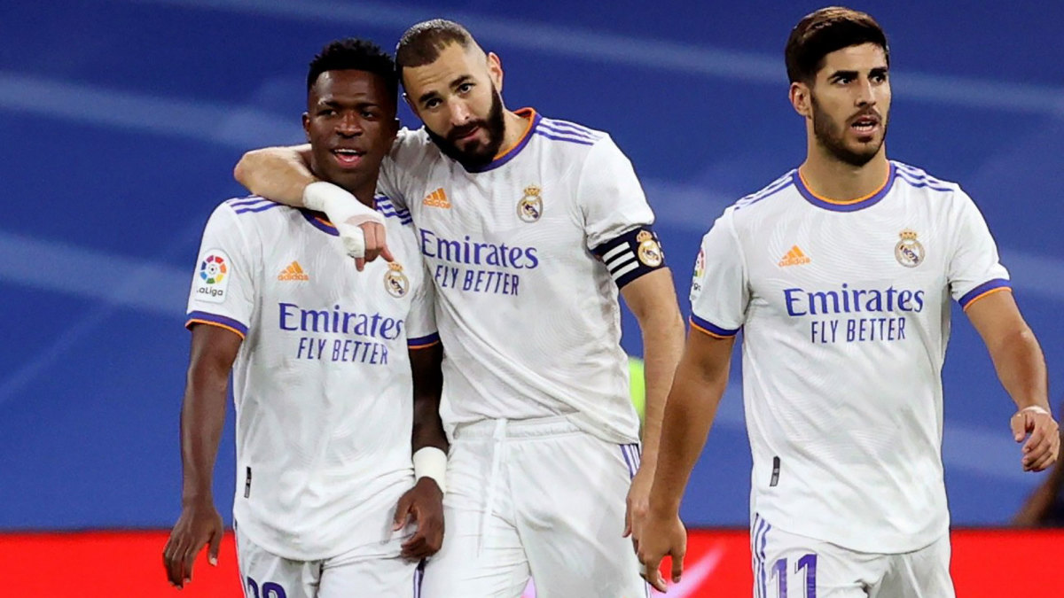 Karim Benzema and Vinicius Junior lead Real Madrid's attack