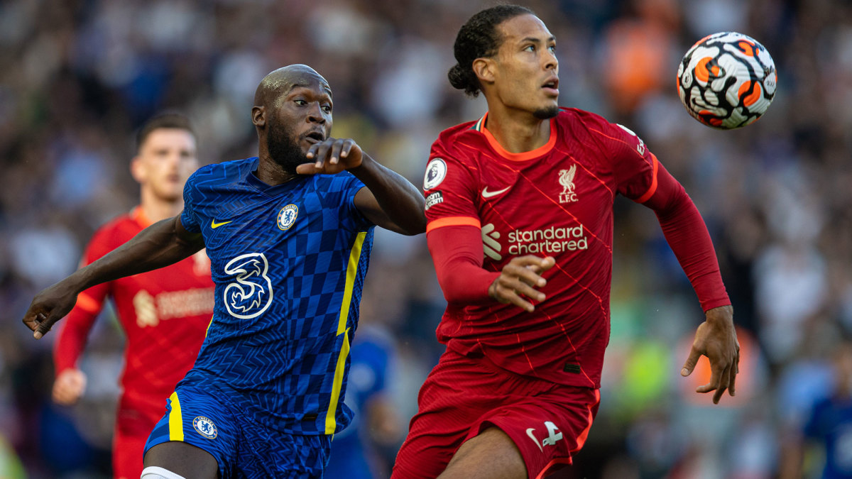 Chelsea and Liverpool are vying for the Premier League title