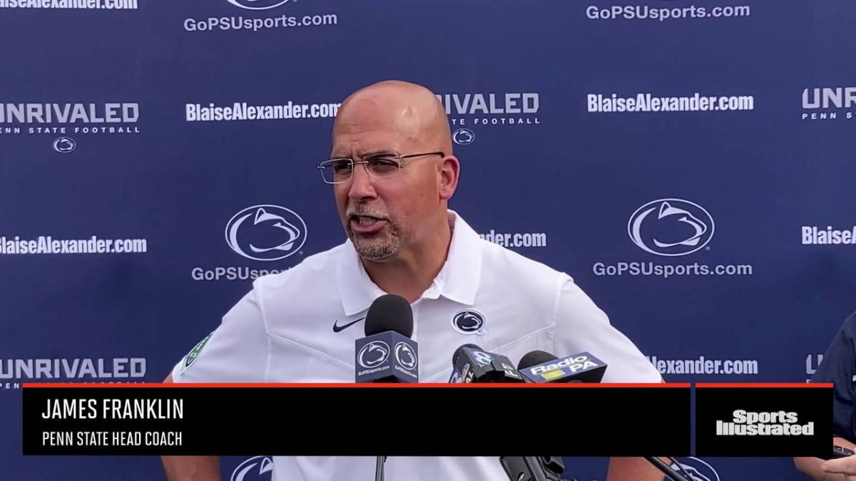 Penn State coach James Franklin on the win over Villanova