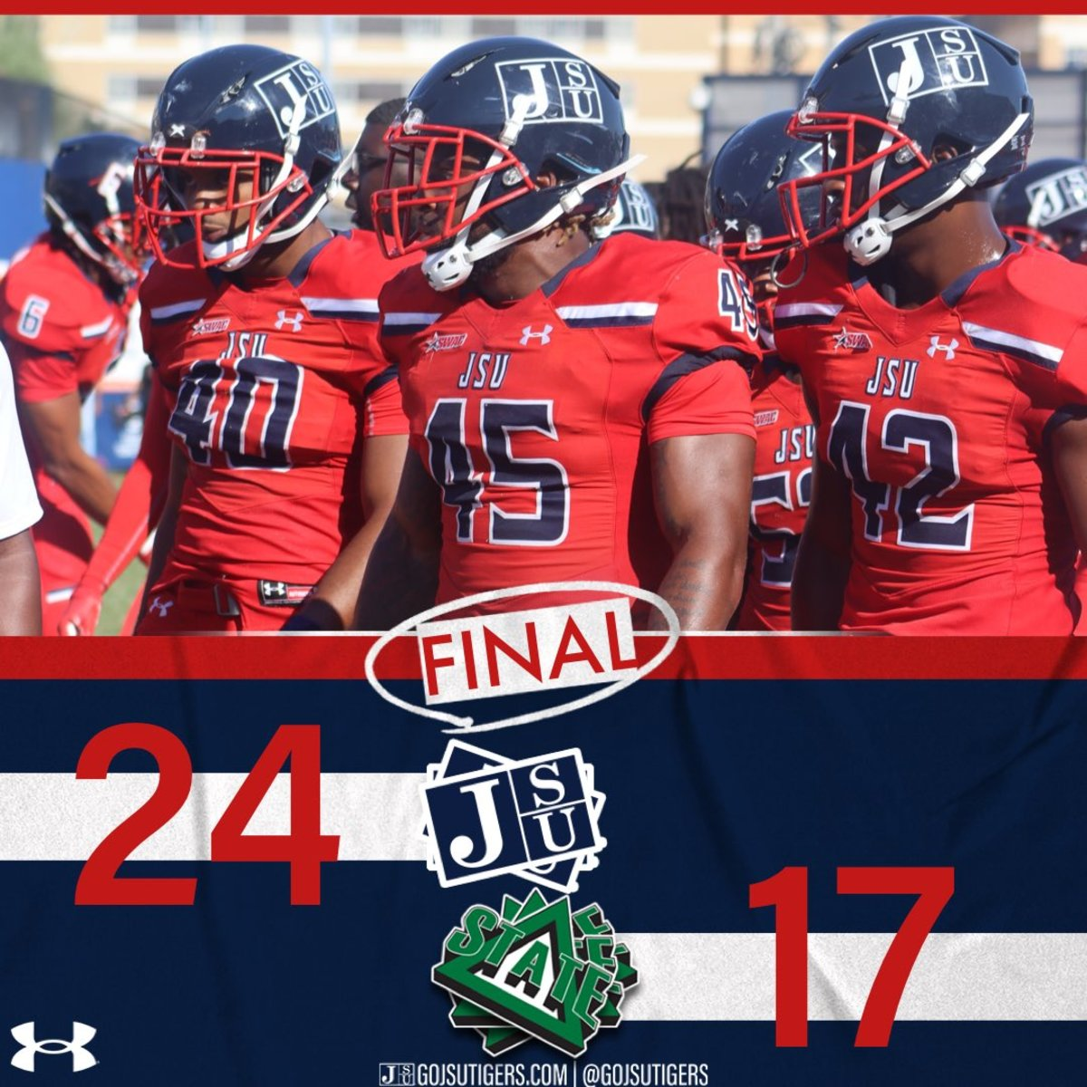Jackson State Wins Over Delta State