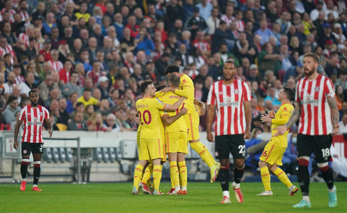 Liverpool Brentford