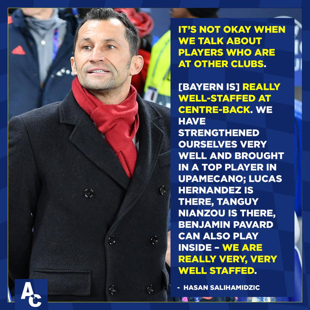 Bayern director on Rudi