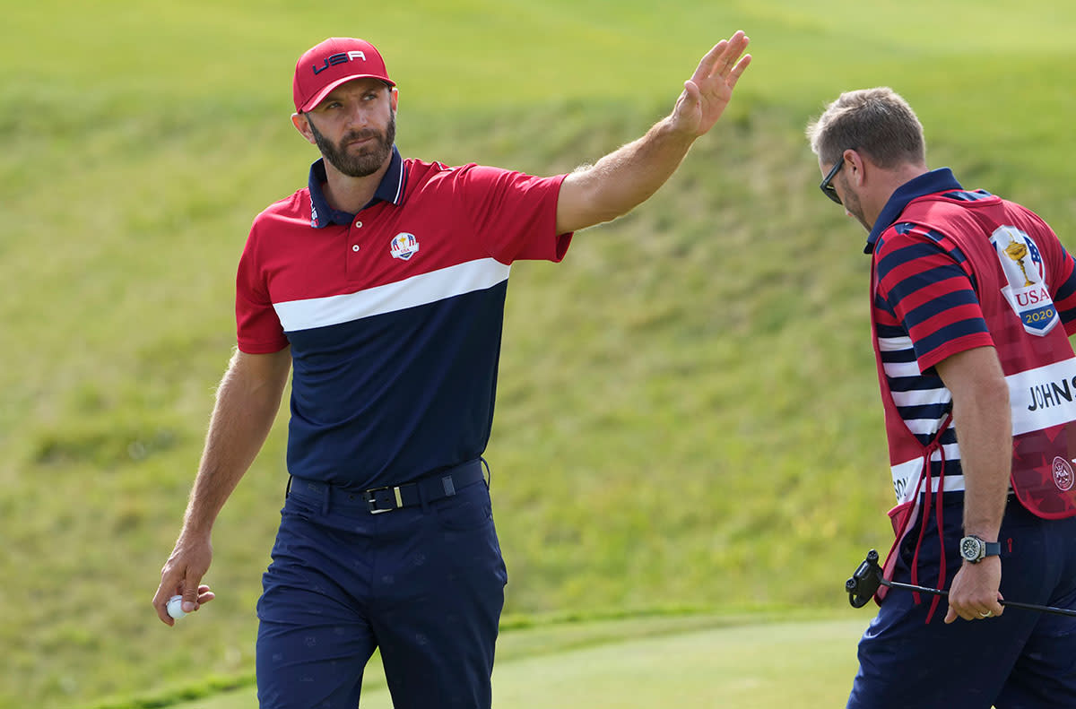 Dustin Johnson went 5-0 at the 2021 Ryder Cup.