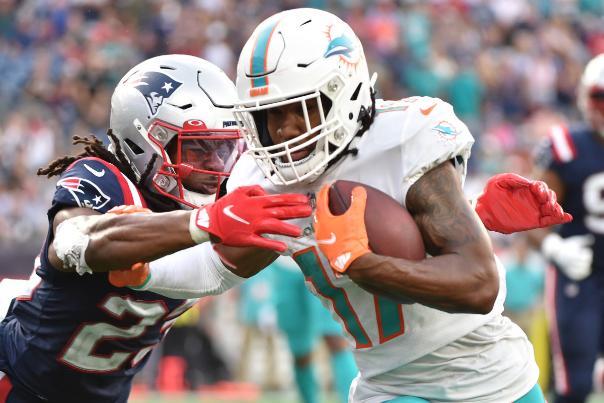 Miami Dolphins Jaylen Waddle