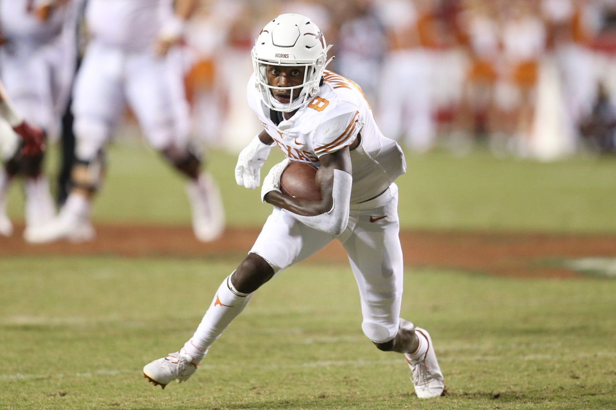 Xavier Worthy has been a star through the beginning of his debut campaign with the Texas Longhorns.