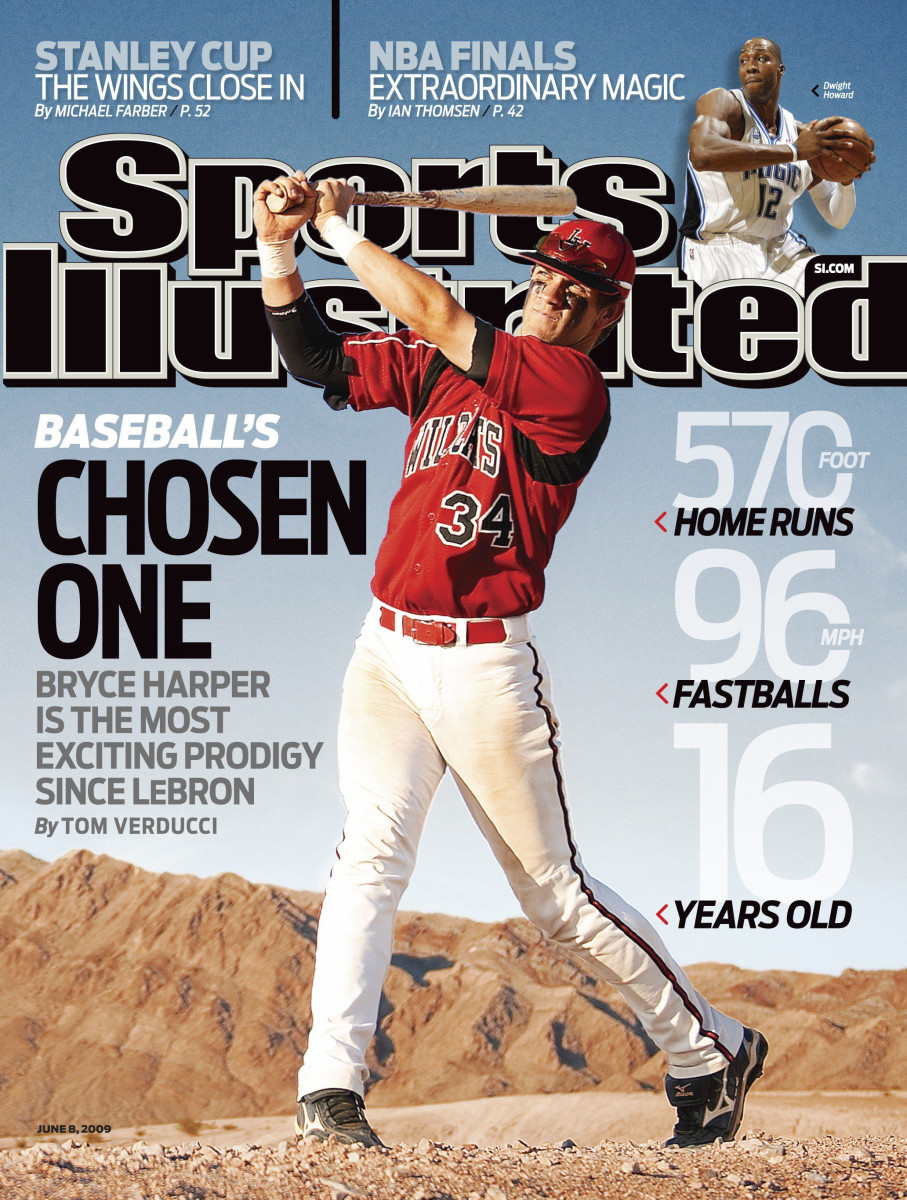 Ever since he was on the SIcover at 16, Harper has never played baseball in a neutral environment.