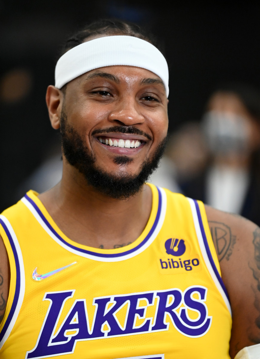 Lakers News: Carmelo Anthony Talks Russell Westbrook's Role - Sports Illustrated