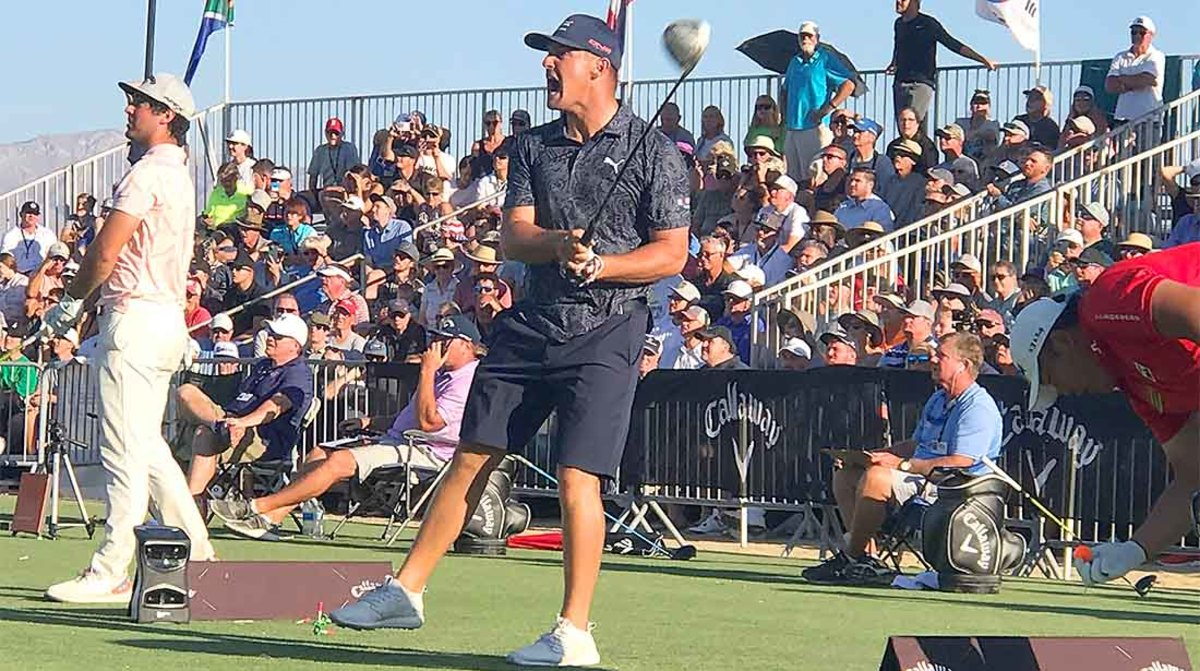 Bryson DeChambeau let it rip for four days at the Professional Long Drivers Association World Championships.