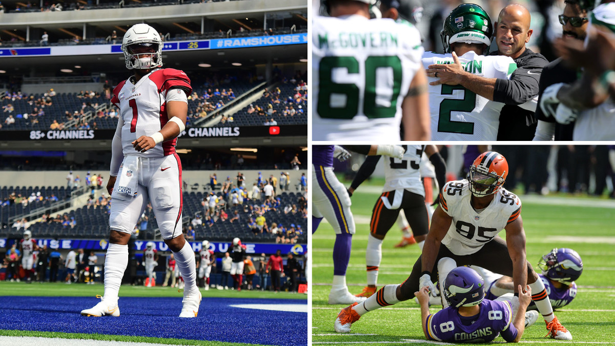 NFL Week 4 Takeaways: Kyler Takes Cards to Another Level, Browns D Is Spectacular, Rookie QB Redemption
