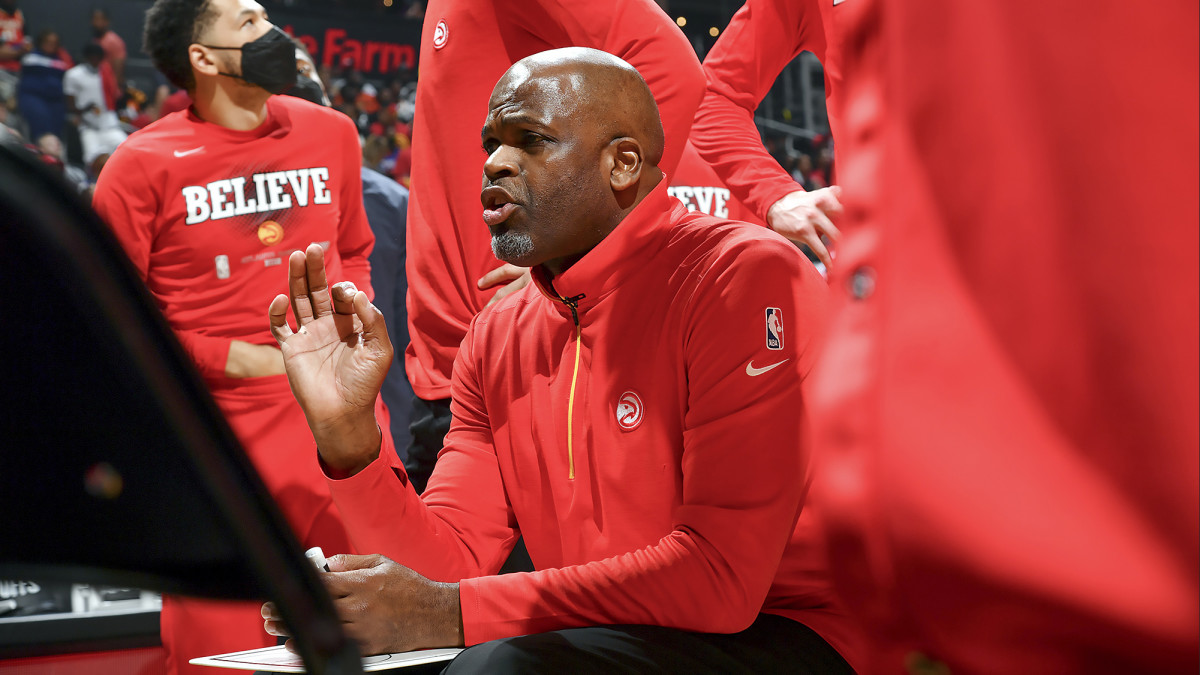 The Hawks were 11th in the East when McMillan took over and wound up with the No. 5 seed.