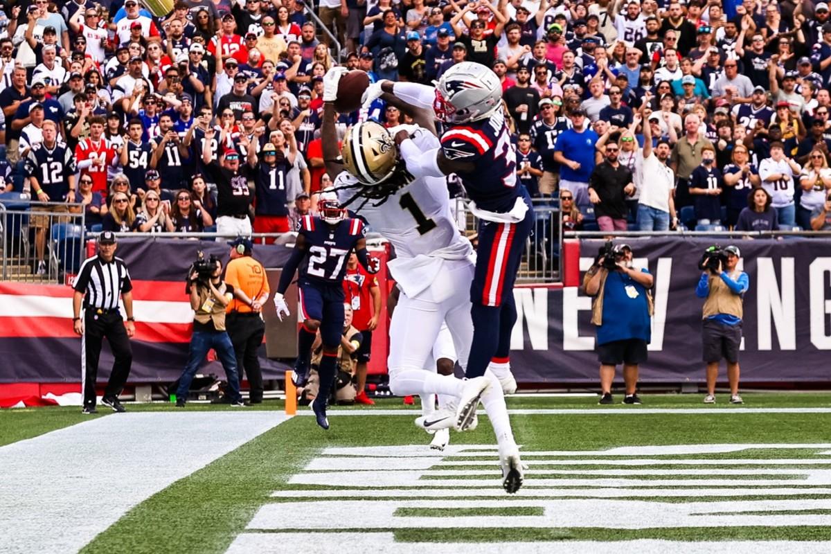 New Orleans Saints wide receiver Marquez Callaway (1)