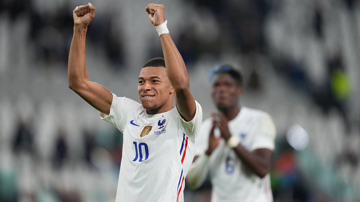 France and PSG star Kylian Mbappe