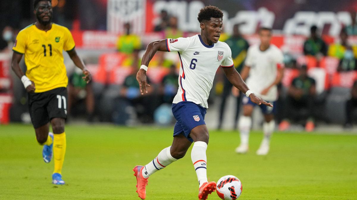 USMNT midfielder Yunus Musah