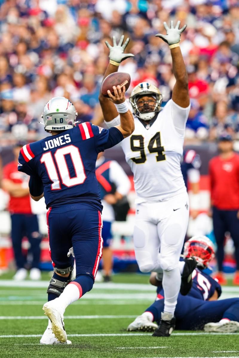 New Orleans Saints defensive end Cameron Jordan (94)
