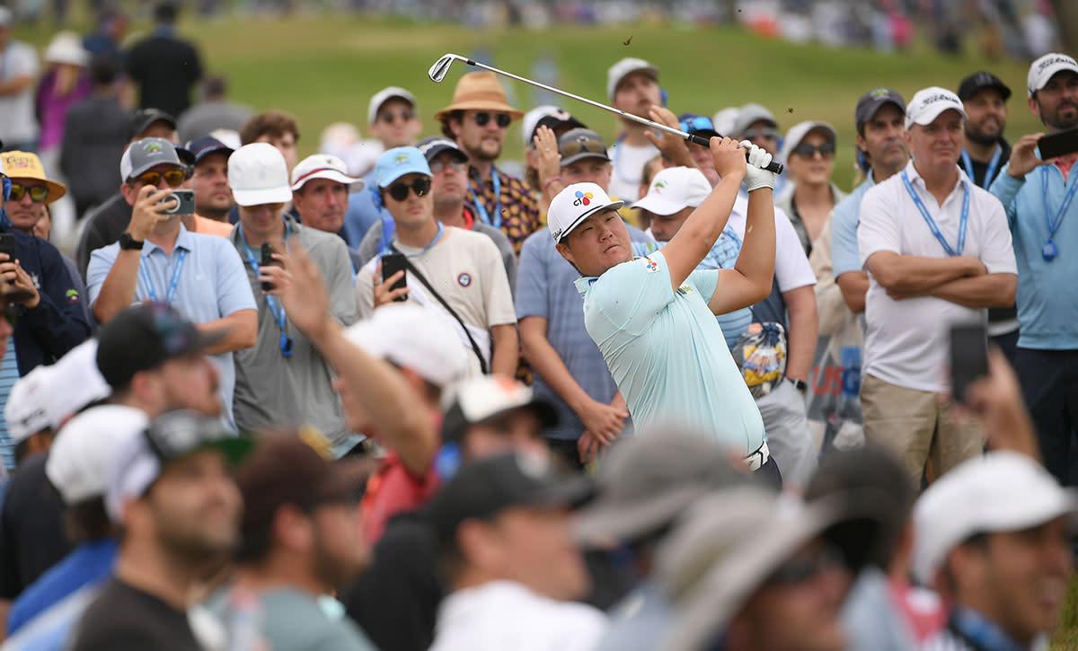 Sungjae Im plays the 2021 U.S. Open at Torrey Pines.