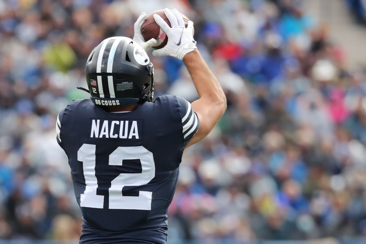 Puka Nacua vs Boise State all navy
