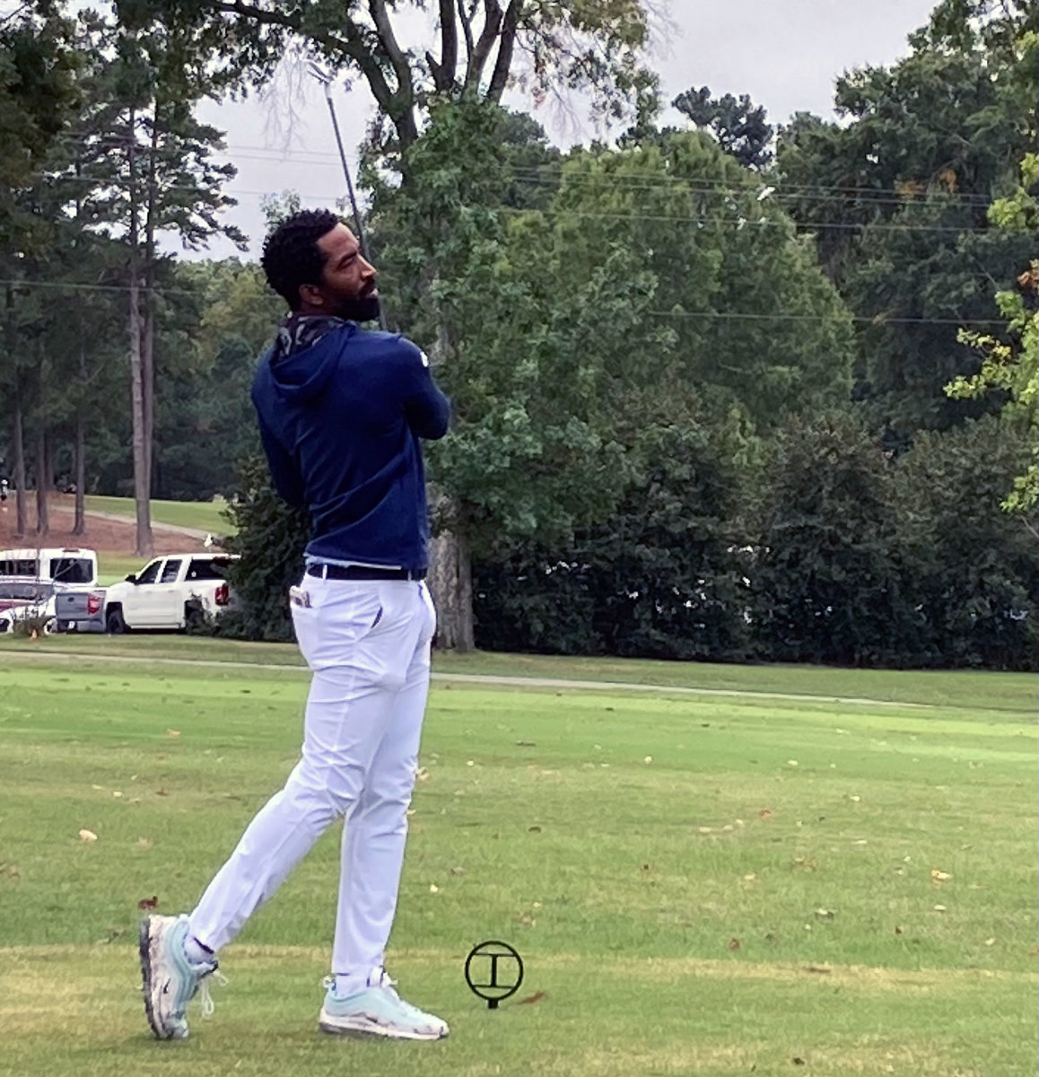 J.R. Smith makes his competitive college golf debut for North Carolina A&T.