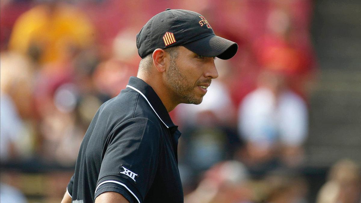 Iowa State coach Matt Campbell