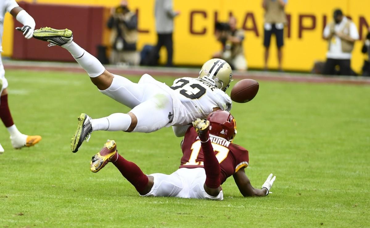 New Orleans Saints cornerback Marshon Lattimore (23)