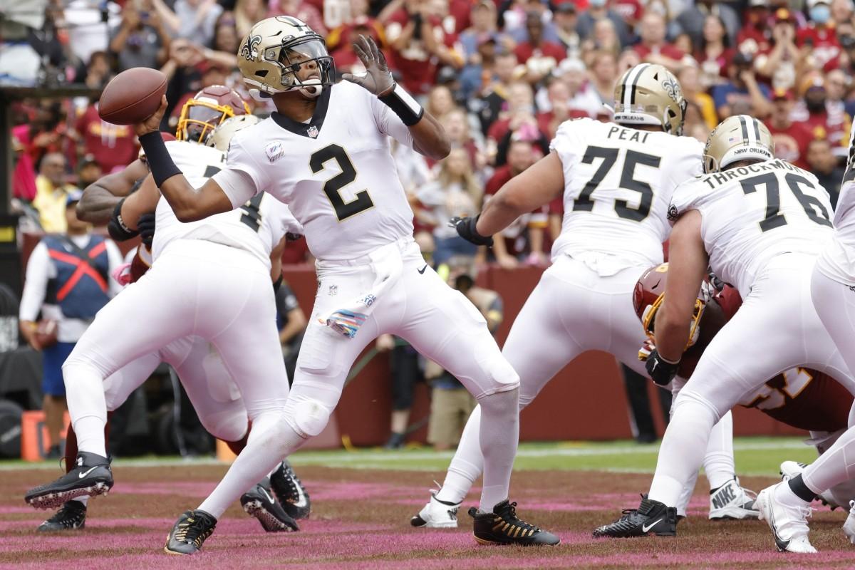 New Orleans Saints quarterback Jameis Winston (2)