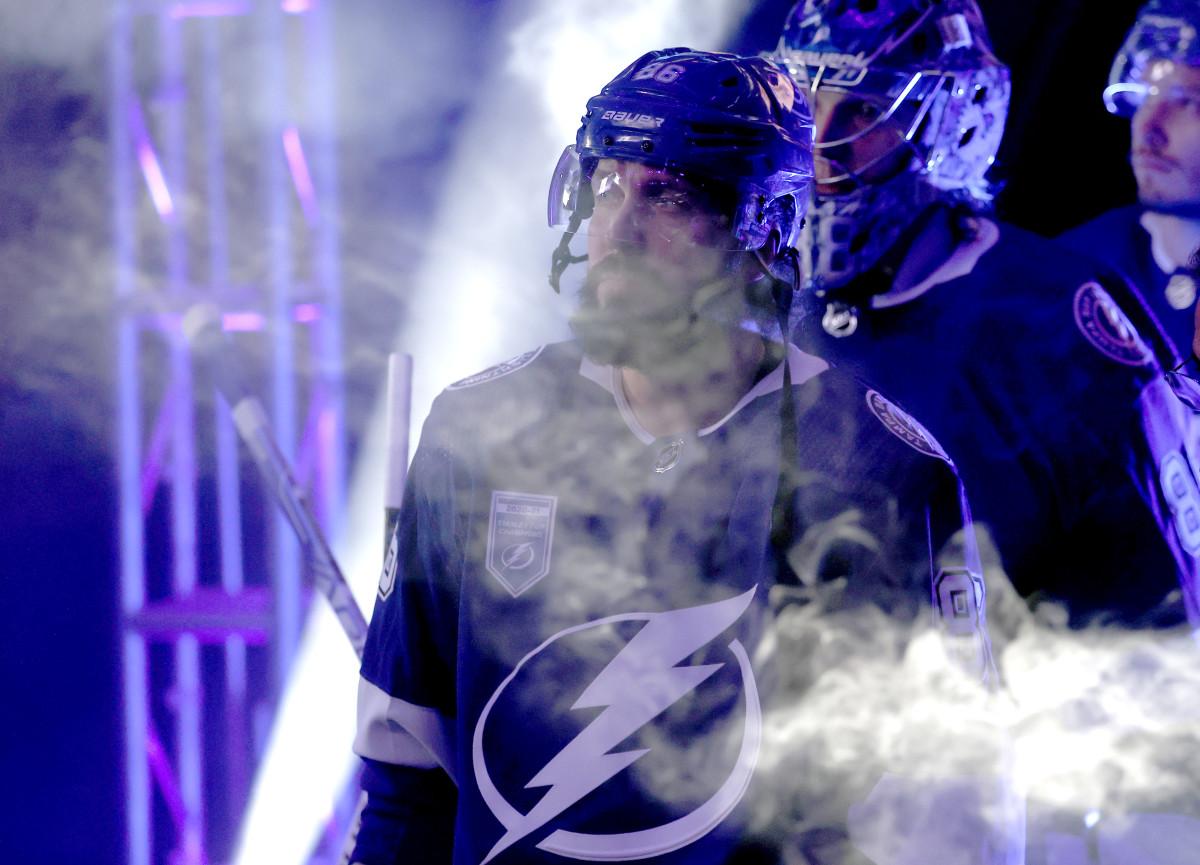 Lightning's Kucherov out Indefinitely with Lower-Body Injury