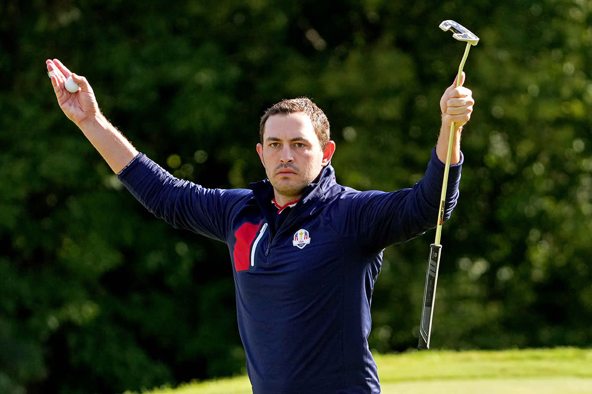 Patrick Cantlay at the 2021 Ryder Cup.