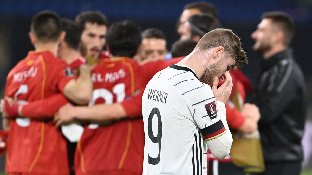 Germany loses to North Macedonia in World Cup qualifying