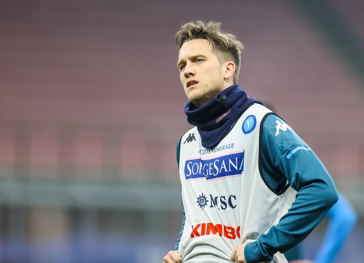 Piotr Zielinski Napoli midfielder and Liverpool target