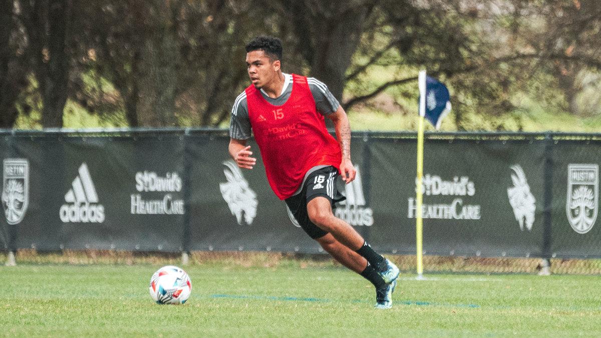 Austin FC rookie Daniel Pereira