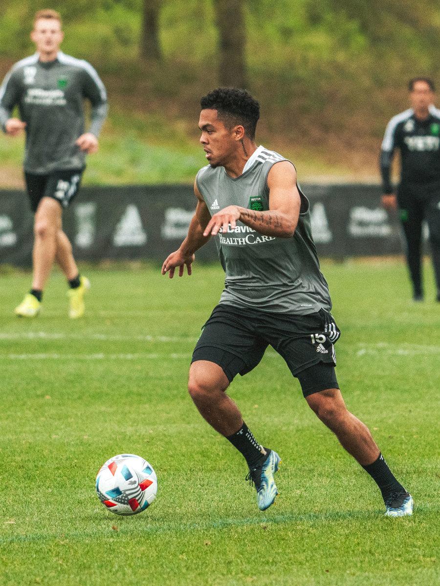 Austin FC's Daniel Pereira