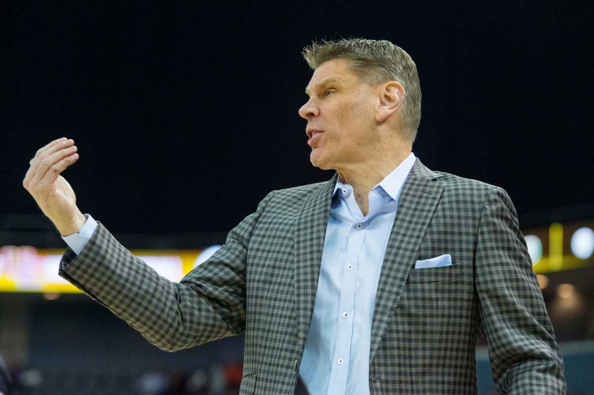 Porter Moser in Indianapolis