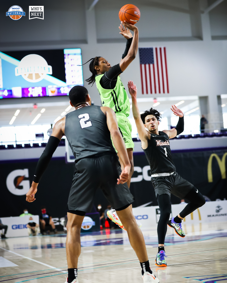 TyTy Washington is one of the most dominant guards in the country. (Photo: GEICO Nationals)