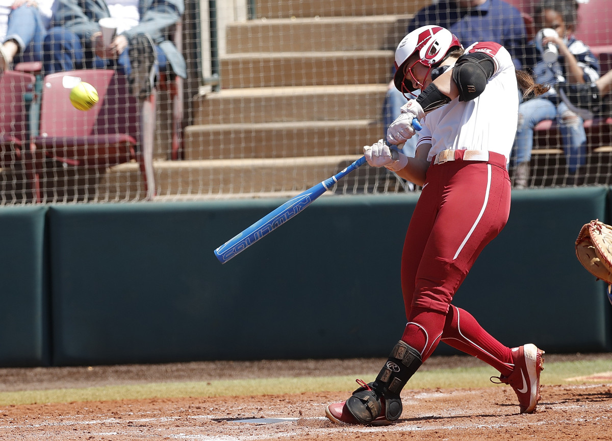 Oklahoma leads the nation in virtually every offensive category, launching 114 home runs and totaling a team batting average of .430