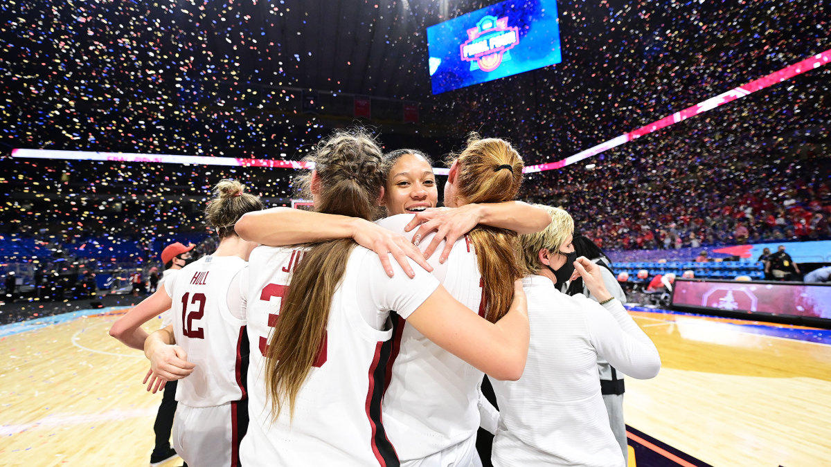 Stanford celebrates its national title