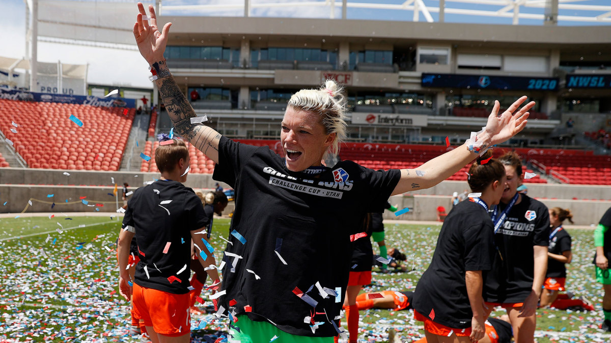 Houston Dash goalkeeper Jane Campbell