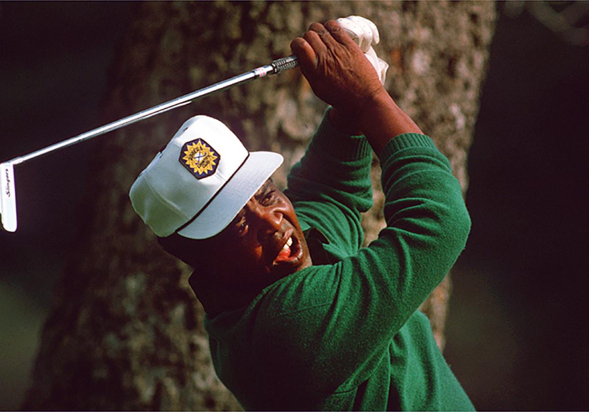 Golfer Lee Elders