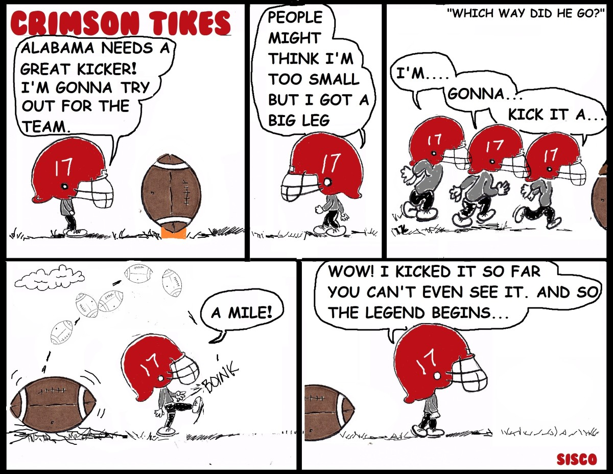 Throwback Crimson Tikes: Which Way Did He Go?