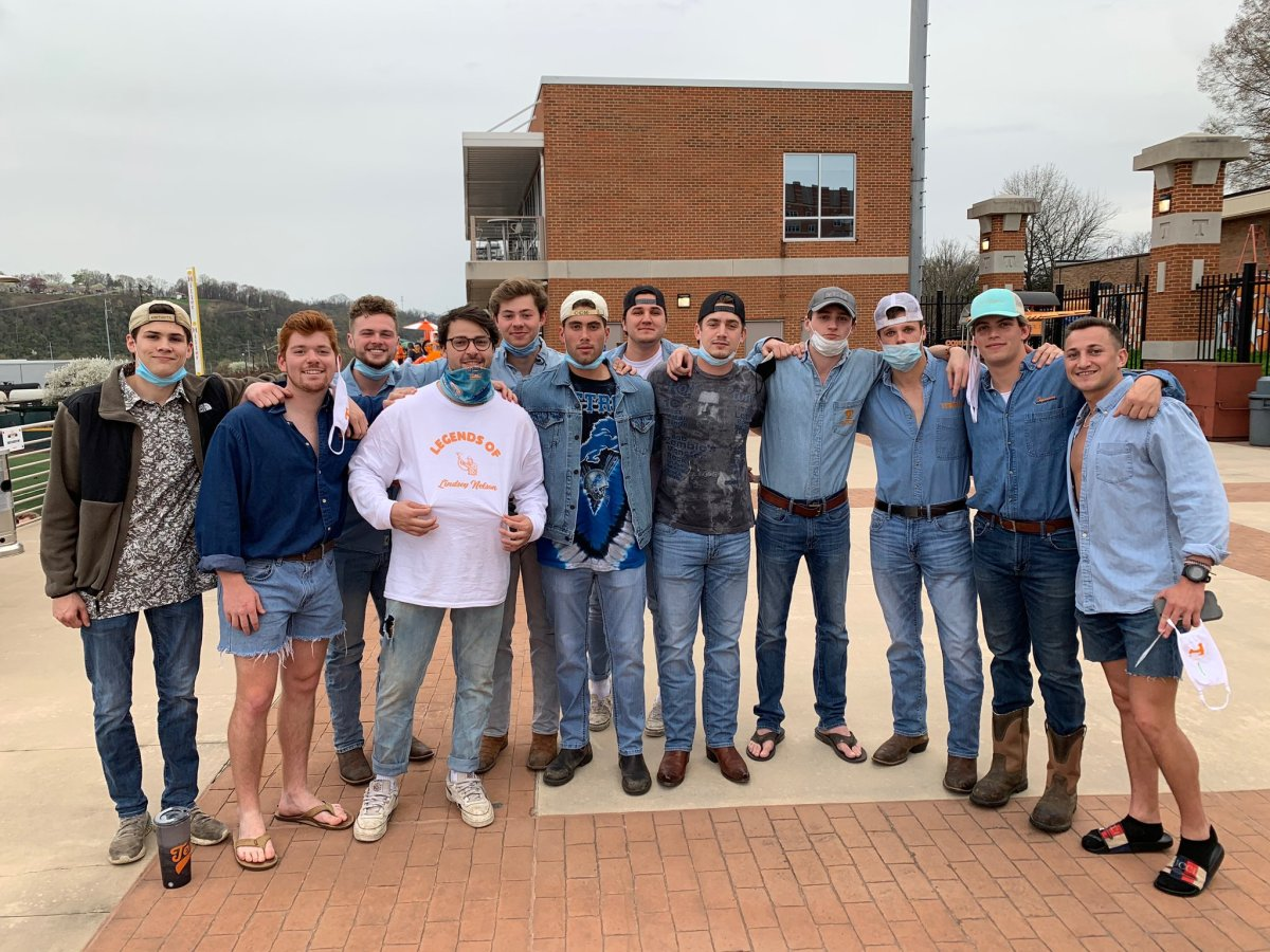 The Legends of Lindsey Nelson on Denim Night at the Vols' home ballpark
