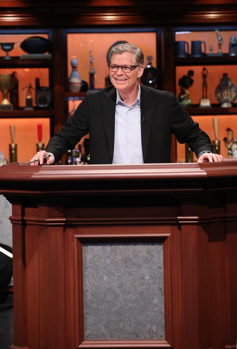 Dan Patrick hosting an episode of 'Sports Jeopardy!'