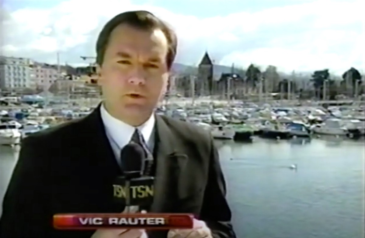 Vic Rauter in his Swiss element