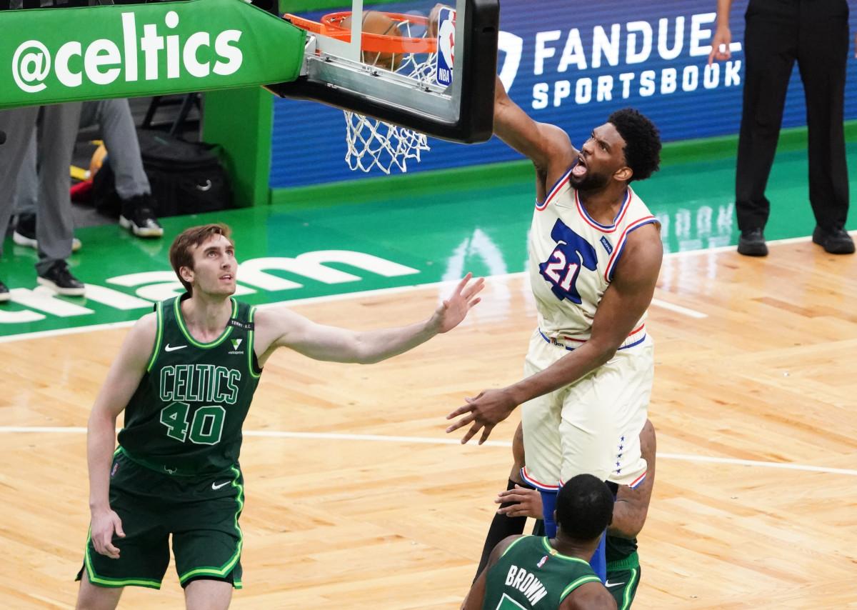 Philadelphia center Joel E