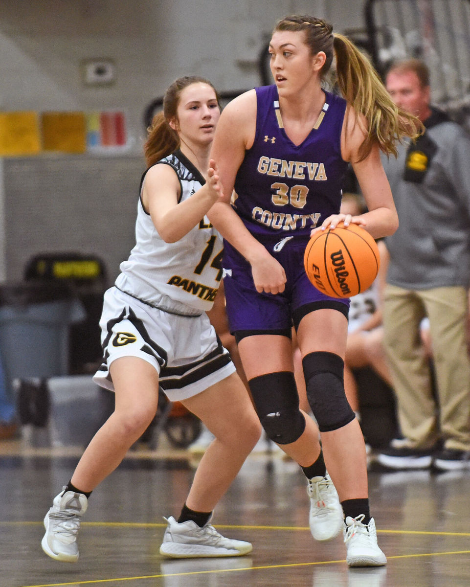 Geneva County basketball Karoline Striplin