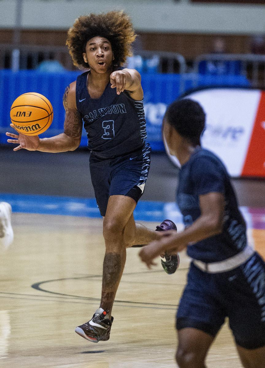 Alabama Mr. Basketball repeat winner J.D. Davison