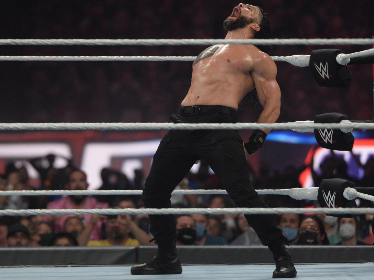 Roman Reigns at WrestleMania 37