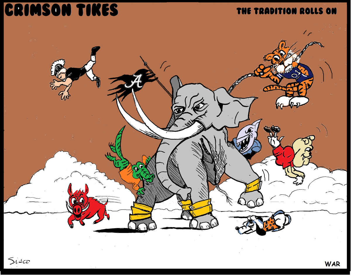 Crimson Tikes: War Elephant