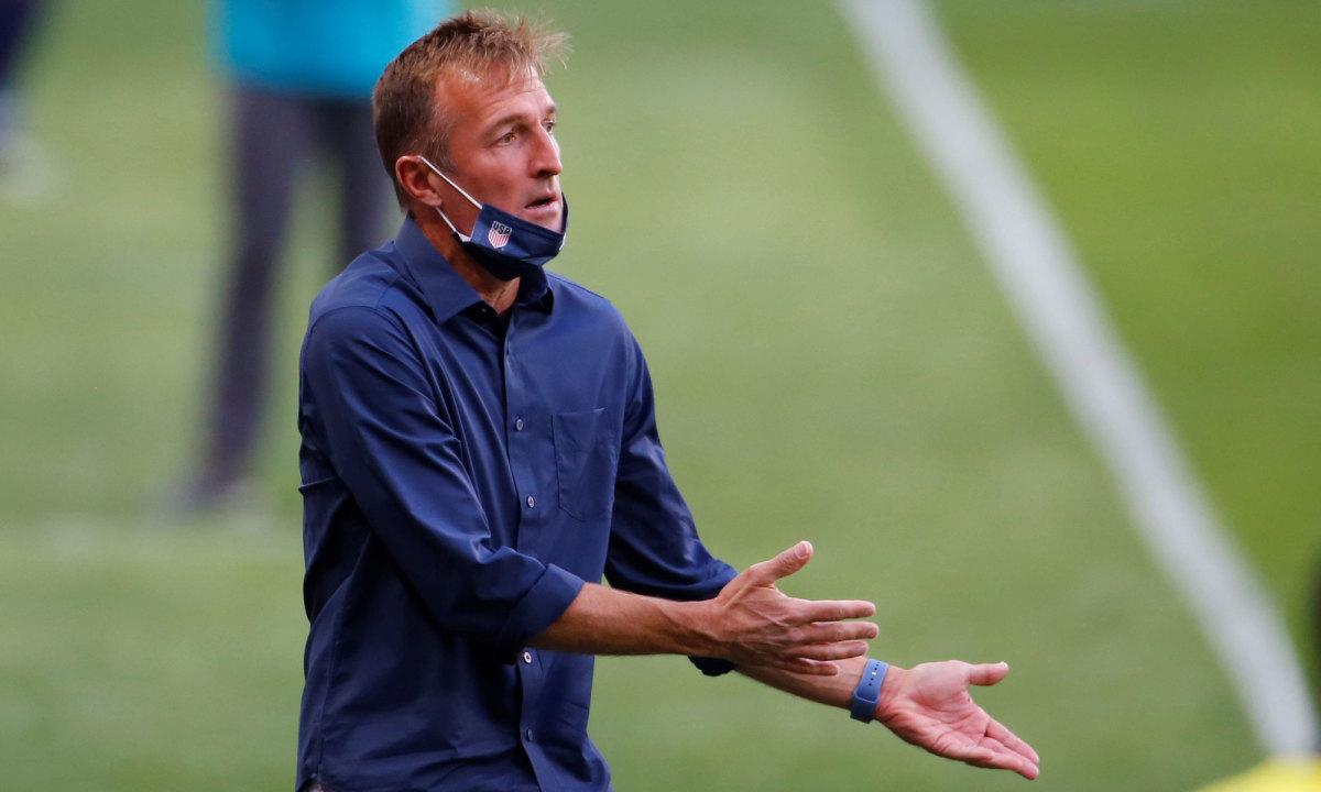 USA U-23 coach Jason Kreis