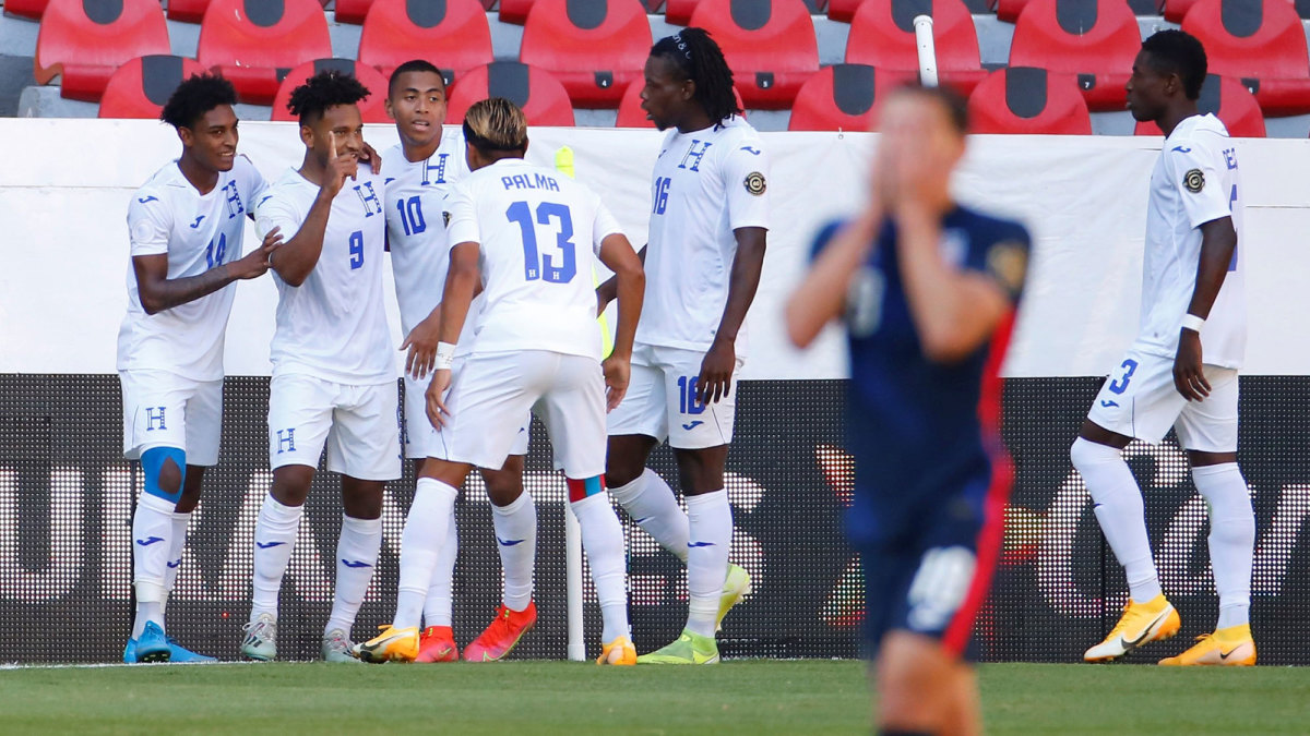 USA U-23s lose to Honduras in Olympic qualifying