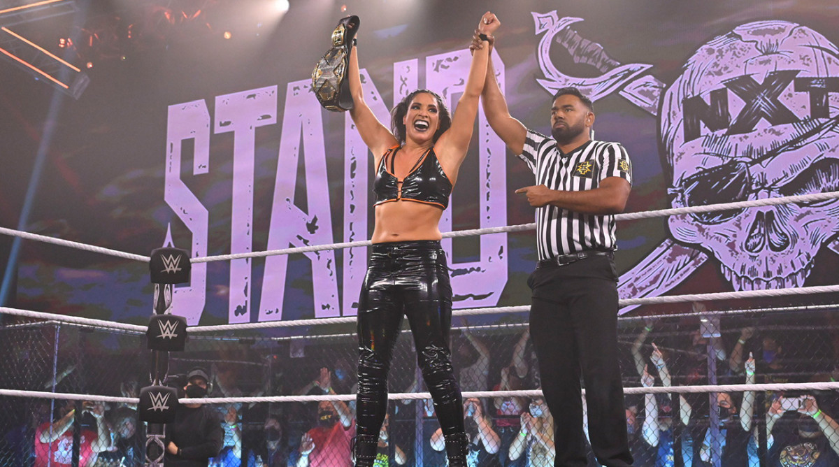What's next for NXT women's champion Raquel González?